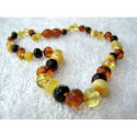 Inspired by Finn- Baltic Amber Assorted Polished Styles Teething Necklaces